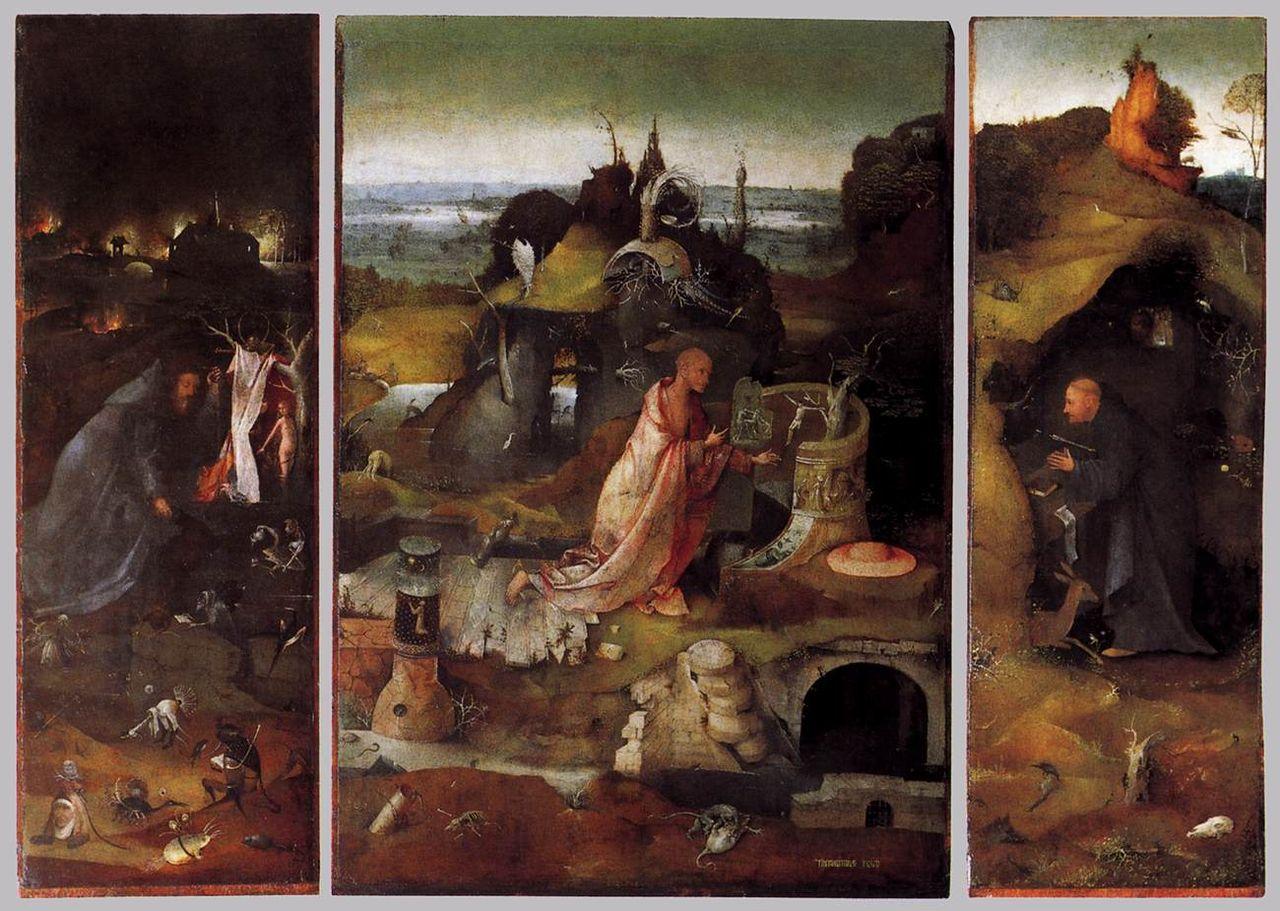 Bosch_-_Hermit_Saints_Triptych_-_WGA02566