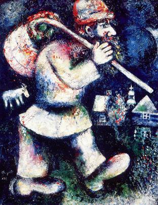 chagall-wandelende jood