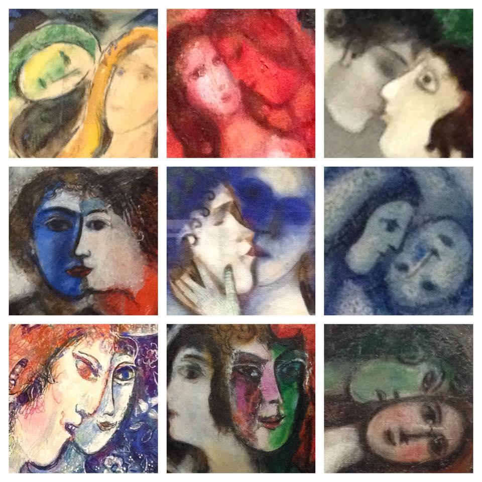 gezichten Chagall