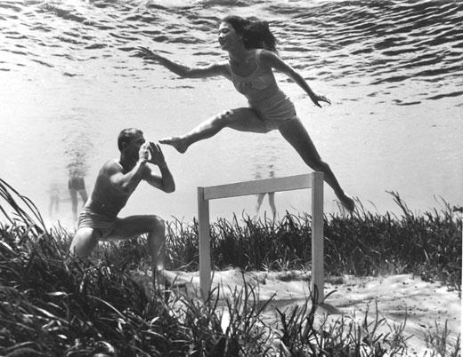 Onderwaterhordenlopen