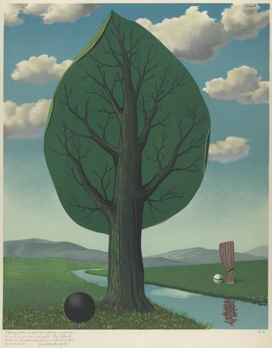 magritte-gordijn