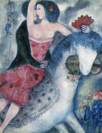 chagall circuspaard1