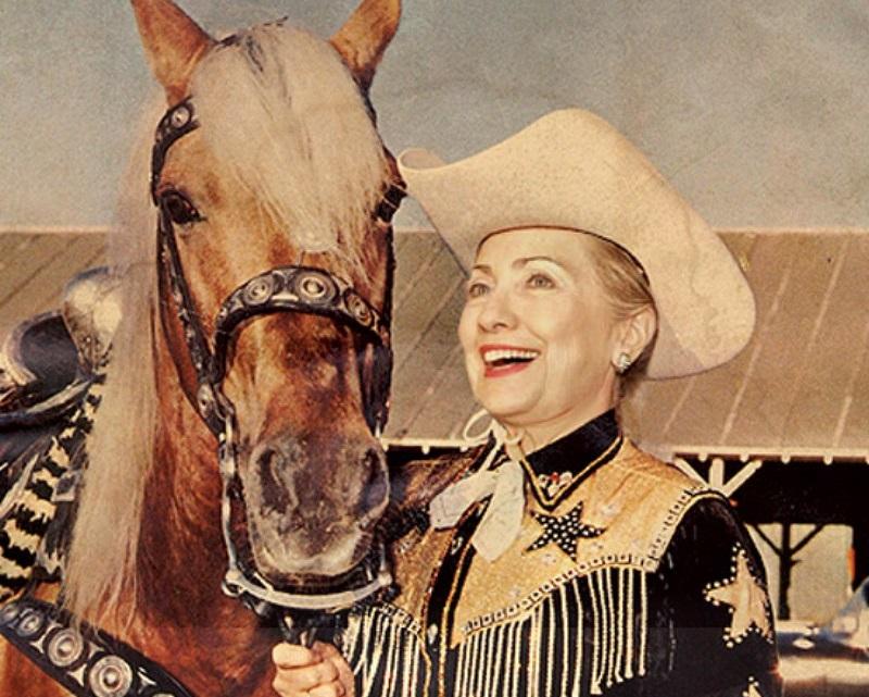 hillaryhorse