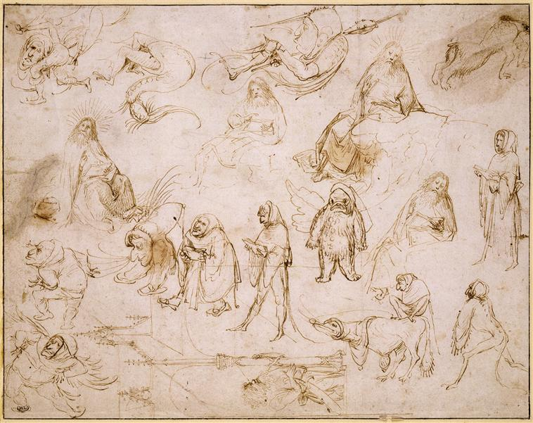 Bosch_sketches-monsters
