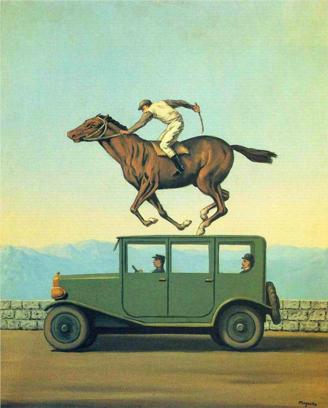 magritte anger of the gods