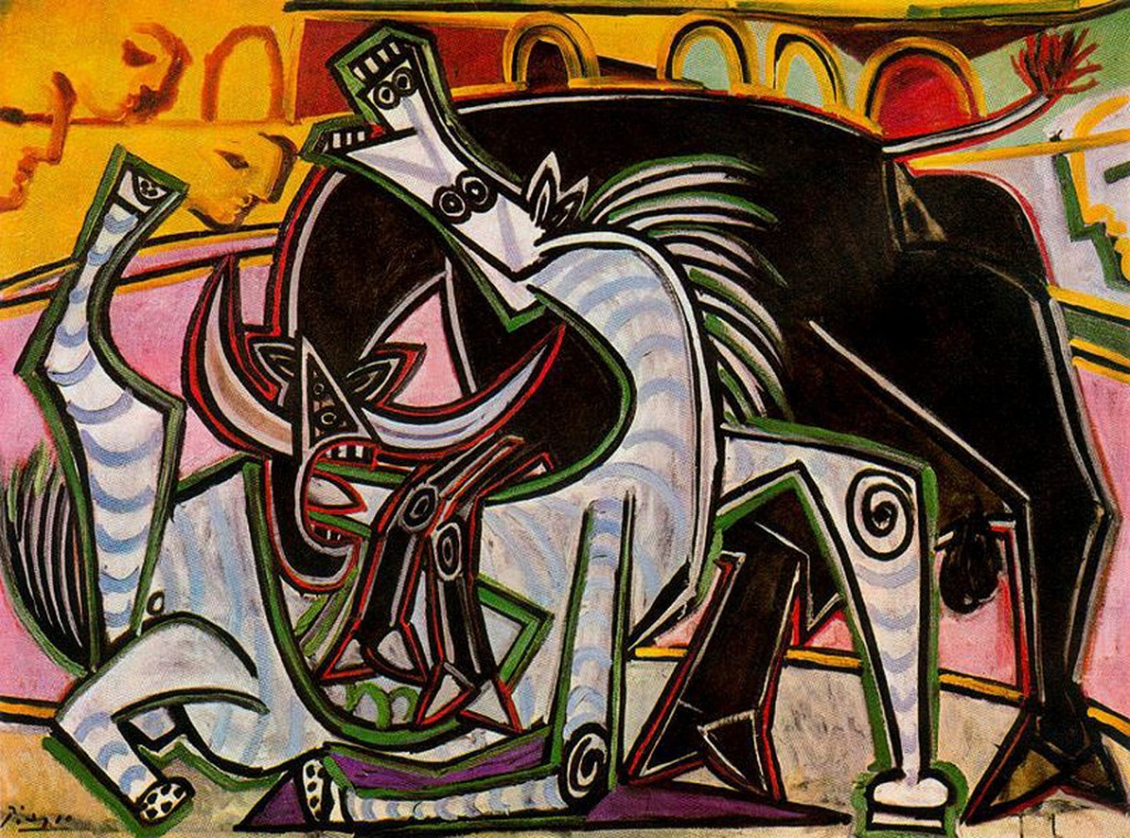 picasso bullfight-1934