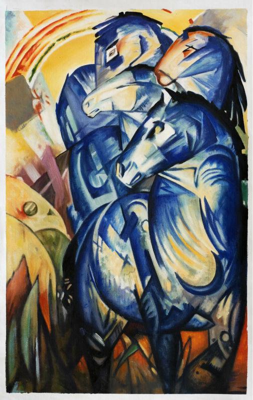 The-Tower-Of-Blue-Horses-by-font-b-Franz-b-font-font-b-Marc