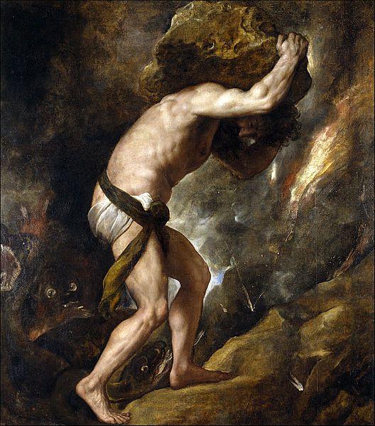 sisyphus steen